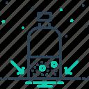 base, bottom, level, scale, surface, underside, water