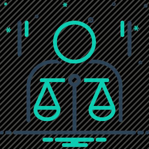 Balance, ethics, justice, law, morality, politics, principle icon - Download on Iconfinder
