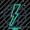 dangerous, environment, power, shock, thunder, thunderbolt, voltage