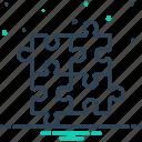 component, division, integrant, part, piece, puzzle, solution