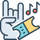 melody, public presentation, show, musically, performance, voucher, concert