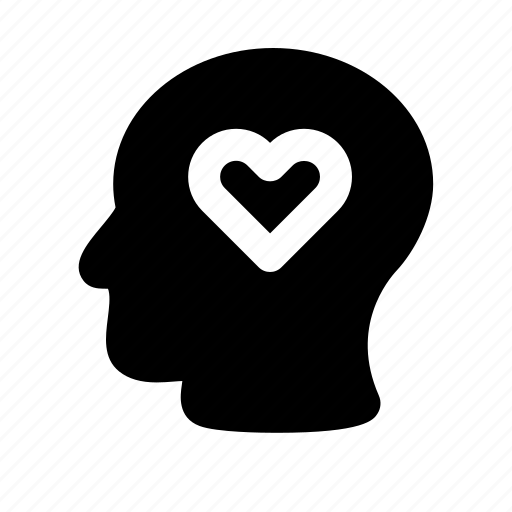 face, head, human, inlove, love, man icon