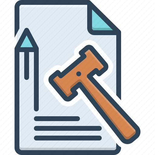 Truth, principle, law and order, lawmaking, juridical, enactment, doctrine icon - Download on Iconfinder