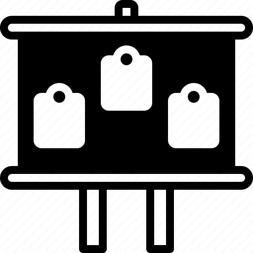Black board, board, facia, sign icon - Download on Iconfinder
