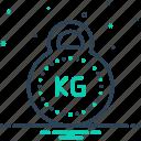kg, kilogram, mass, weight, balance, unit, weight unit