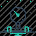 pressure, gauge, equipment, control, manometer, indicator