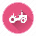 agriculture, field, tractor icon