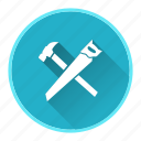 carpenter, construction, equipment, measure, work icon