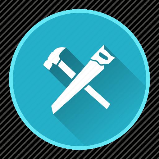 carpenter, construction, equipment, measure, work icon