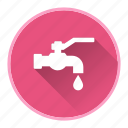 drink, drop, faucet, water icon