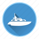 boat, sail, tourism, travel, water icon