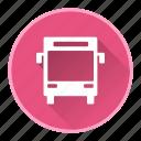 autobus, bus, transport, van icon