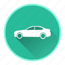auto, automobile, car, garage, road, service, travel icon