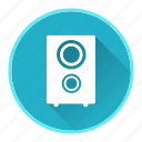 device, hardware, speaker, technology icon