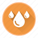 drop, rain, tap, water, weather icon