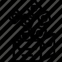 app, box, packs icon