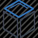 box, cube icon