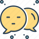 bubble, commenter, feedback, negotiation