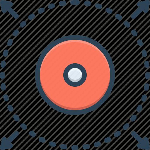 Define, delimit, delimiter, demarcate, mark, mark off icon - Download on Iconfinder