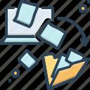 dematerialization, file, file transfer, integration, transfer
