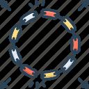 chain, connect, detachment, link