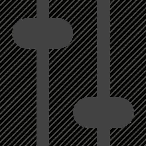 adjustment, configuration, mixer, setting, settings, vertical icon