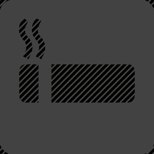 health, sign, smoking icon