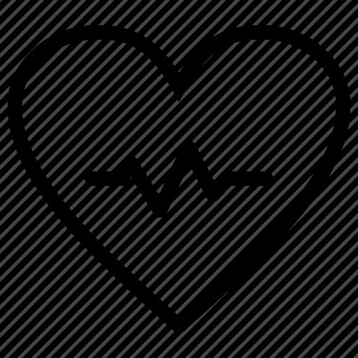 beat, healthcare, heart icon