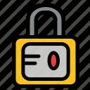 lock, school, study icon