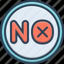 ban, moratorium, no, nope, not, sanction