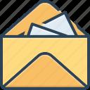 communication, envelope, inbox, inbox message, message, notification, reminder