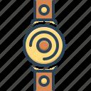 accessories, expensive, trendy, watch, wrist, wristwatch icon