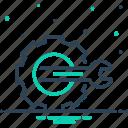 cobalt, cogwheel, config, configuration, customize, repair, setting icon