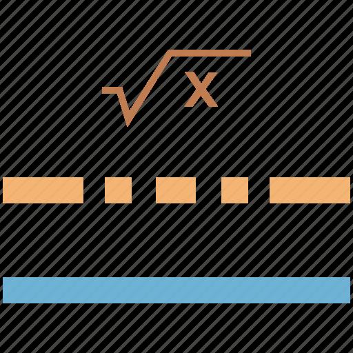 algebra, algebra formula, elementary algebra, math algebra, mathematics, quadratic formula icon