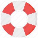 life, preserver, protection, safety icon