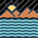 briny, deep, mare, ocean, saline, sea, wave