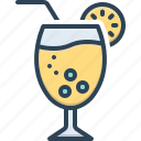 fluid, juice, juicy, lemon, liquid, molten, serous icon