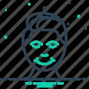 boy, head, human, nob, noodle, skull, smile icon