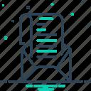 document, envelope, epistle, leaf, letter, mail, sheet icon