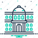 college, institute, university, education, architecture, students, governmental icon