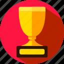 award, cup, prize, reward, trophy, win icon