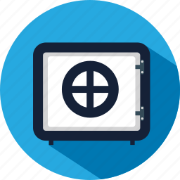 bank, insurance, protection, safe, secured icon
