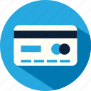 bank, business, card, credit, debit, payment icon