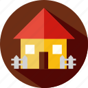 home, house, hut, shack, web icon