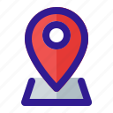 gps, location, map, navigation, placeholder icon