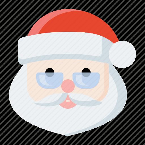 christmas, holiday, santa, santa claus icon icon