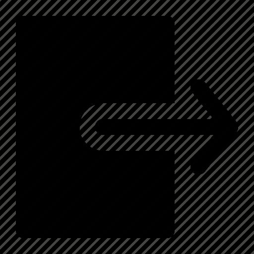 arrow, diagonal, left, right, sign icon