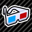 dimension, glasses, third