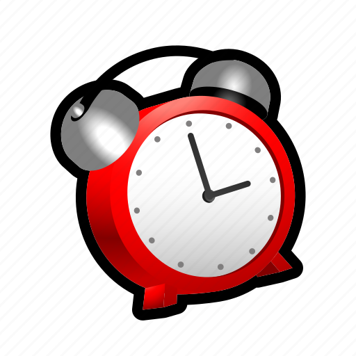 alarm, bell, clock, pointer, ring, time, timer icon