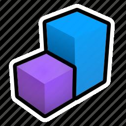bar, chart, statistics icon